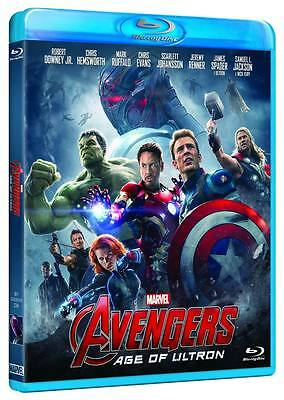 AVENGERS - AGE OF ULTRON (BLU-RAY) con Robert Downey Jr. Chris Evans, M.Ruffalo