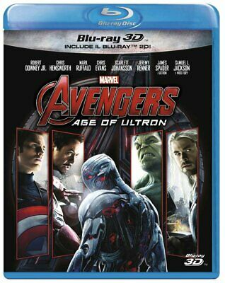 AVENGERS - AGE OF ULTRON (BLU-RAY 3D + 2D) con Robert Downey Jr., Chris Evans
