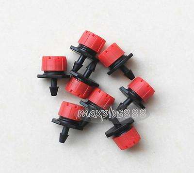 """Agricultural Garden Irrigation 1/4"""" Barb Drip CROSS Connector Fittings 100Pc"""
