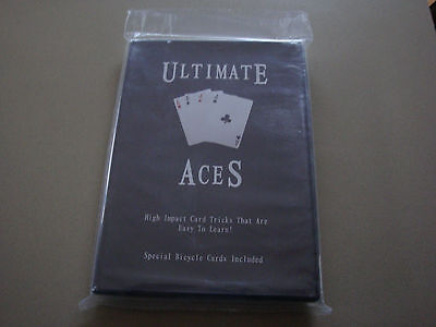 Ultimate Aces Dvd With Special Bicycle Cards Included - Magic Card Tricks