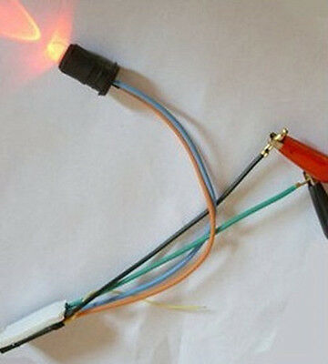 NEW DIY RED LED Cell Mobile Phone call in Indicator Motocycle