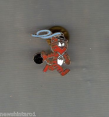 #D204.  Tiger  Mascot   Badge Made For 1988 Olympic Games