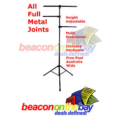 Steel Joint Portable Stage Disco Light Stand Tree Style Truss Tripod PA DJ Rack