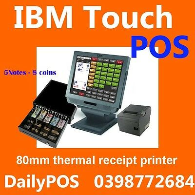 IBM Touch Screen POS System Cafe Takeaway  heavy duty POS Restaurant Jl