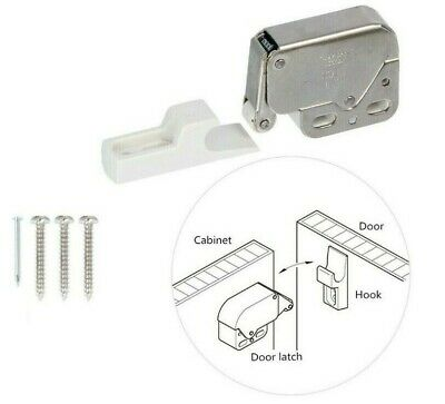 Mini Touch Catch Latch Cabinets etc Complete with screws