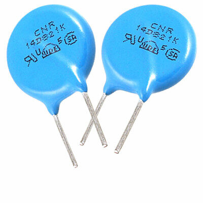 10 x Radial Lead Voltage Dependent Resistors DC 670V 14D821K