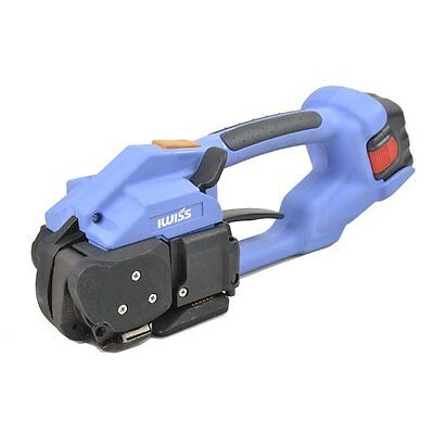 Iwiss DD160 Cordless Battery Operated Automatic Sealless for PP/PETfrom 1/2-5/8""