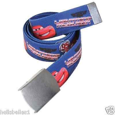 New Official Disney Cars Belt With Lightning Mcqueen  - Official Merchandise