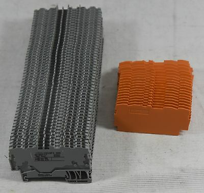 Wago 2000-1401 Through Terminal Block TopJob 4 conductor 3.5mm Lot of 50 + Ends