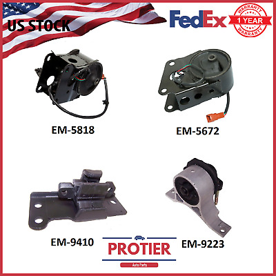 Engine Motor & Trans Mount Set for 2004-2006 Maxima 3.5L Auto with Sensor
