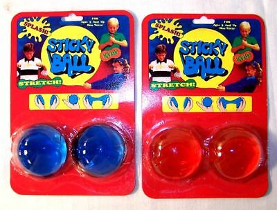 12 STICKY BALLS novelty toys ball slimy splat classic play toy party favors new