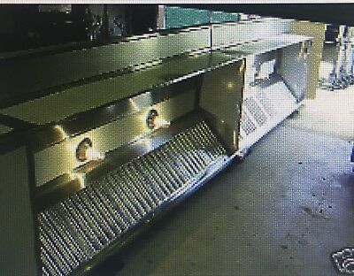 8'x4'  NEW SS GREASE EXHAUST HOOD (OR ANY OTHER SIZE)