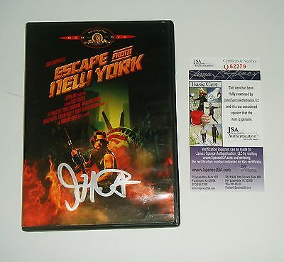 Director John Carpenter Signed Escape From New York DVD JSA CERT FREE SHIPPING