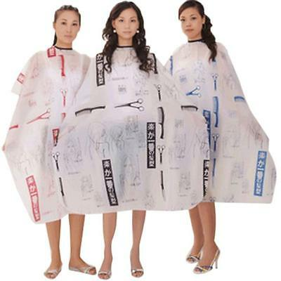 Hot Salon Hair Cut Hairdressing Barbers Hairdresser Cape Gown Cloth Adult Child