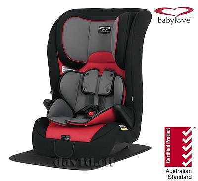 BabyLove Ezy Grow Ep Harnessed Convertible Child Infant Baby Car Seat 6mth - 8yr