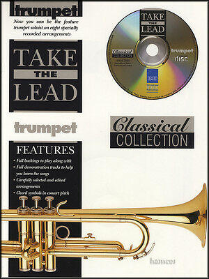 Take The Lead Classical Collection Trumpet Sheet Music Book/CD Bizet Bach Mozart