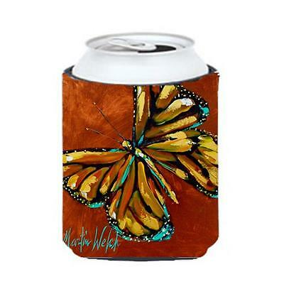 Carolines Treasures MW1083CC Insect Butterly Butterfy Can Or Bottle Hugger