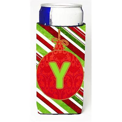 Christmas Ornament Holiday Monogram Initial Letter Y Michelob Ultra s For Sli...