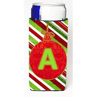 Christmas Ornament Holiday Monogram Initial Letter A Michelob Ultra s For Sli...