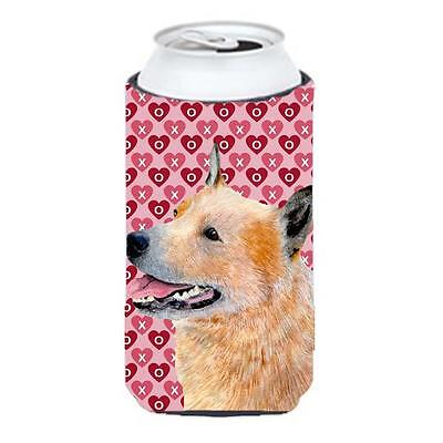 Australian Cattle Dog Hearts Love Valentines Day Tall Boy Hugger • AUD 47.47