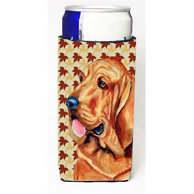 Bloodhound Fall Leaves Portrait Michelob Ultra s For Slim Cans 12 oz.