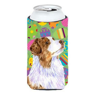 Australian Shepherd Easter Eggtravaganza Tall Boy Hugger 22 To 24 oz.