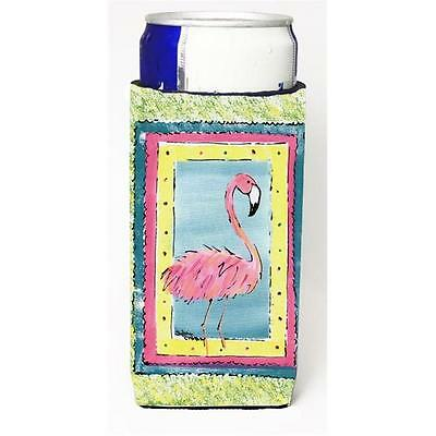 Carolines Treasures 8106MUK Flamingo Michelob Ultra s for slim cans • AUD 47.47