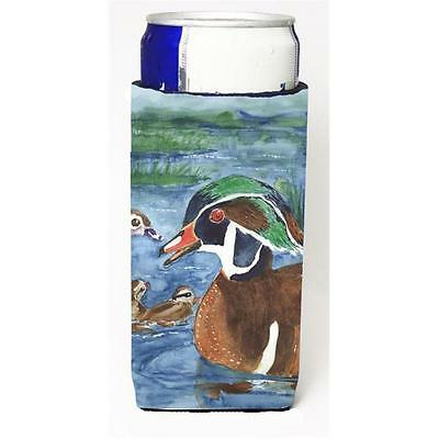 Carolines Treasures Bird Wood Duck Michelob Ultra s For Slim Cans 12 oz.