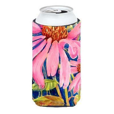 Carolines Treasures 6027TBC Flower Coneflower Tall Boy Hugger 22 To 24 oz.