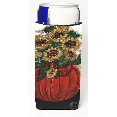 Pumpkin Full Of Flowers Michelob Ultra s For Slim Cans 12 oz.