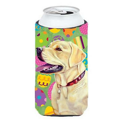 Carolines Treasures Labrador Easter Eggtravaganza Tall Boy Hugger 22 To 24 oz.