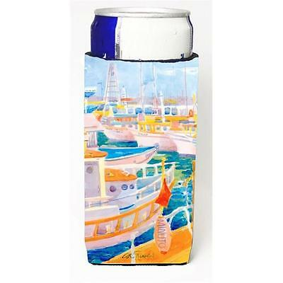 Carolines Treasures 6017MUK Shirmp Boats Michelob Ultra s For Slim Cans 12 oz.