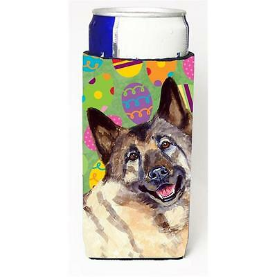 Norwegian Elkhound Easter Eggtravaganza Michelob Ultra s For Slim Cans 12 oz.