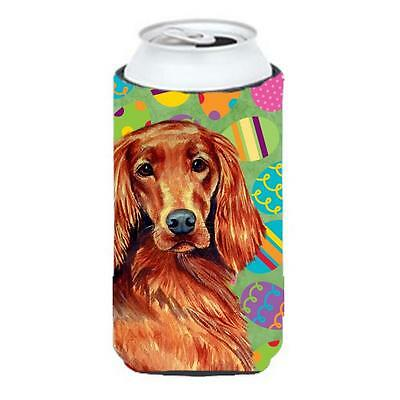 Irish Setter Easter Eggtravaganza Tall Boy Hugger 22 To 24 oz.