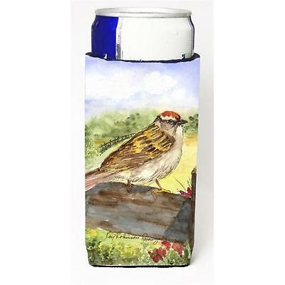 Carolines Treasures Bird Chipping Sparrow Michelob Ultra s For Slim Cans 12 oz.