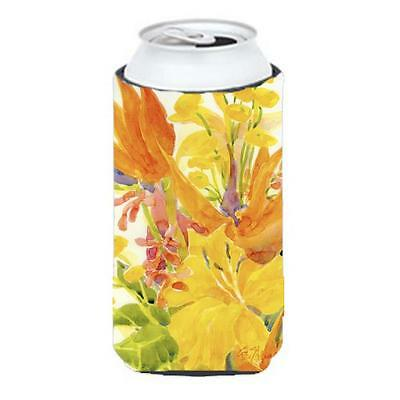 Carolines Treasures 6015TBC Flower Bird Of Paradise Tall Boy Hugger 22 To 24 oz.