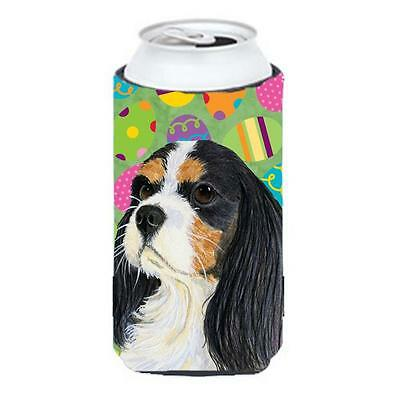 Cavalier Spaniel Easter Eggtravaganza Tall Boy Hugger 22 To 24 oz.