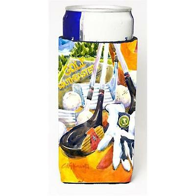 Golf Clubs Ball And Glove Michelob Ultra s For Slim Cans 12 oz.