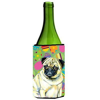 Carolines Treasures Pug Easter Eggtravaganza Wine Bottle Hugger 24 oz.
