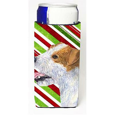 Jack Russell Terrier Candy Cane Holiday Christmas Michelob Ultra s For Slim C...
