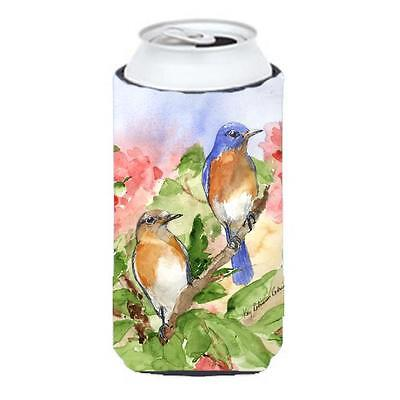 Carolines Treasures KR9012TBC Bird Blue Bird Tall Boy Hugger 22 To 24 oz. • AUD 47.47