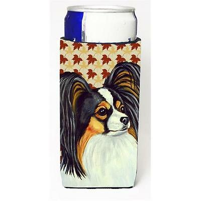 Papillon Fall Leaves Portrait Michelob Ultra s For Slim Cans 12 oz.