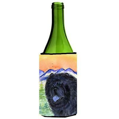 Carolines Treasures SS8191LITERK Chow Chow Wine bottle sleeve Hugger 24 oz.