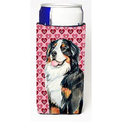 Bernese Mountain Dog Hearts Love And Valentines Day Portrait Michelob Ultra b...