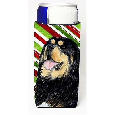 Tibetan Mastiff Candy Cane Holiday Christmas Michelob Ultra s For Slim Cans 1...