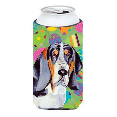 Basset Hound Easter Eggtravaganza Tall Boy Hugger 22 To 24 oz.