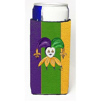 Jester Mardi Grass Michelob Ultra bottle sleeves For Slim Cans 12 oz.