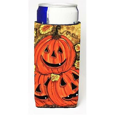 Stack Of Pumpkins Jack-O-Laterns Michelob Ultra s For Slim Cans 12 oz.