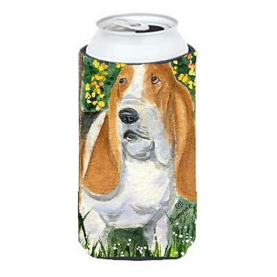 Carolines Treasures SS8964TBC Basset Hound Tall Boy Hugger 22 To 24 oz.
