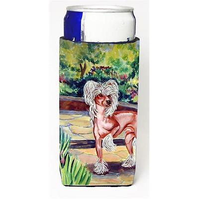Chinese Crested On The Patio Michelob Ultra bottle sleeves For Slim Cans 12 oz.